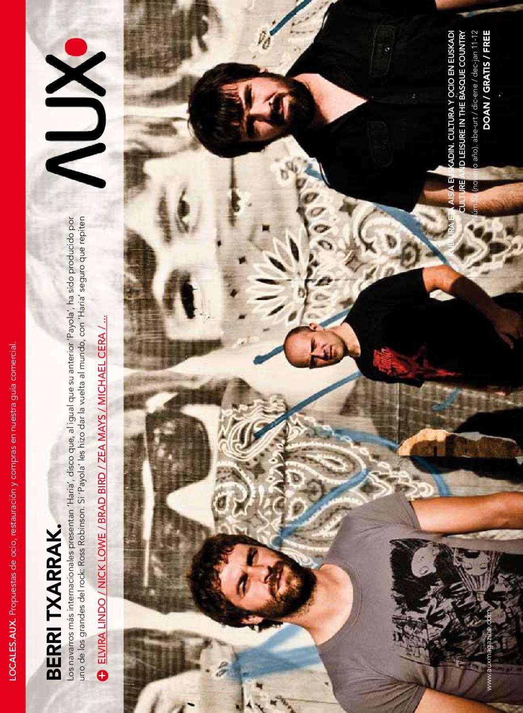best website d728a 5849d AUX.magazine diciembre 2011 enero 2012 by Auxiliarte Factoría - issuu