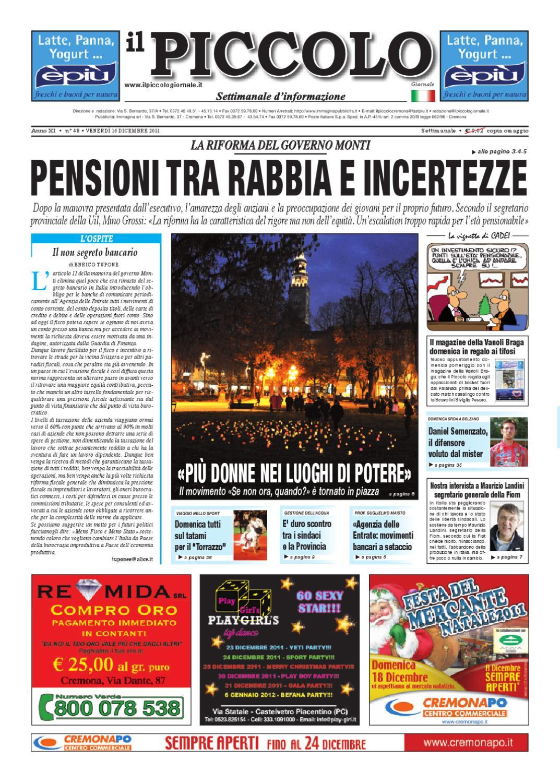 Cremona Di Piccolo Il Il Giornale T3FKul1Jc5