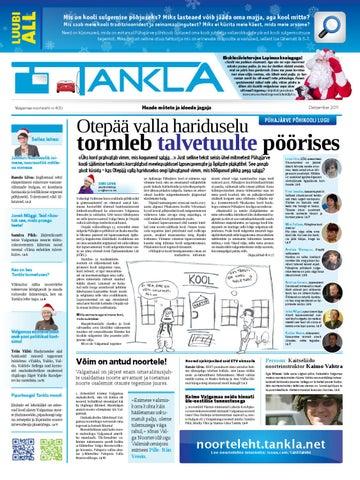 cfa10f659a6 Noorteleht Tankla nr 5 (12-2011) by Valgamaa noorteleht Tankla - issuu