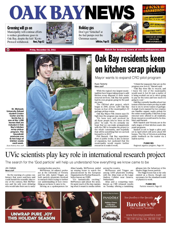 Dec 16 2011 OakBayNews by Oak Bay News issuu