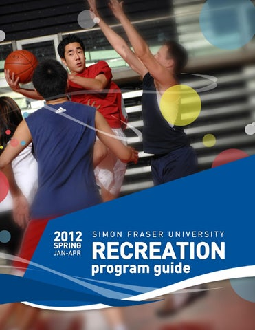 Sfu recreation program guide spring 2012 by sfu recreation issuu for Burnaby swimming pool schedule