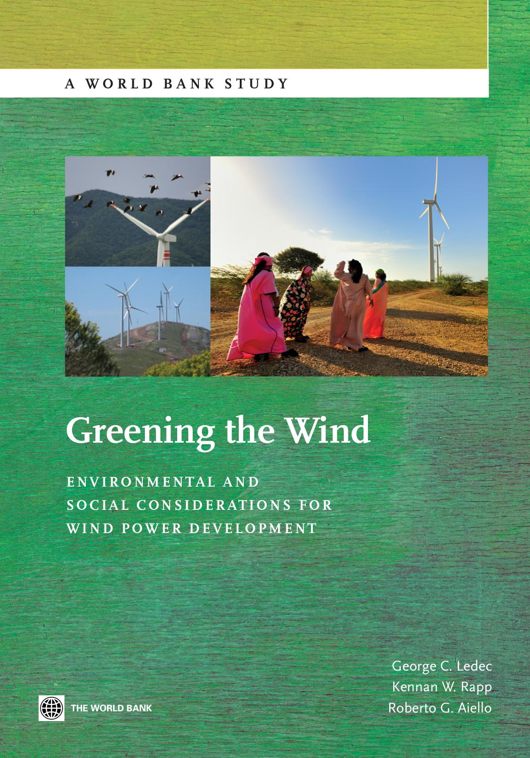 Long Island Leren Bank.Greening The Wind By World Bank Group Publications Issuu