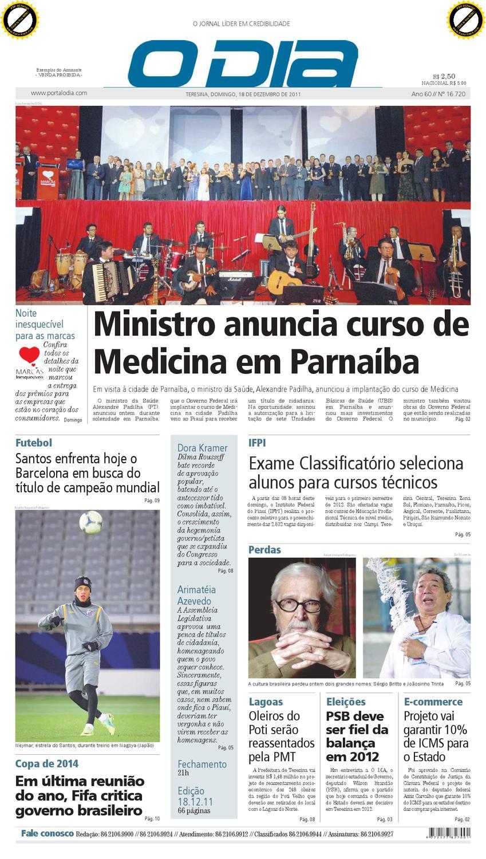 ec4fc02970 Jornal O DIA by Jornal O Dia - issuu