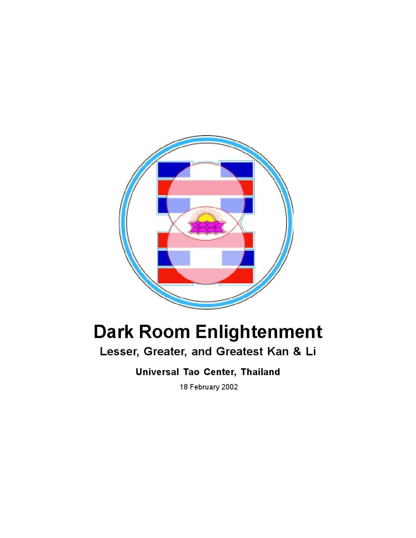 Mantak Chia - Dark Room Enlightenment by Mantak Chia - issuu