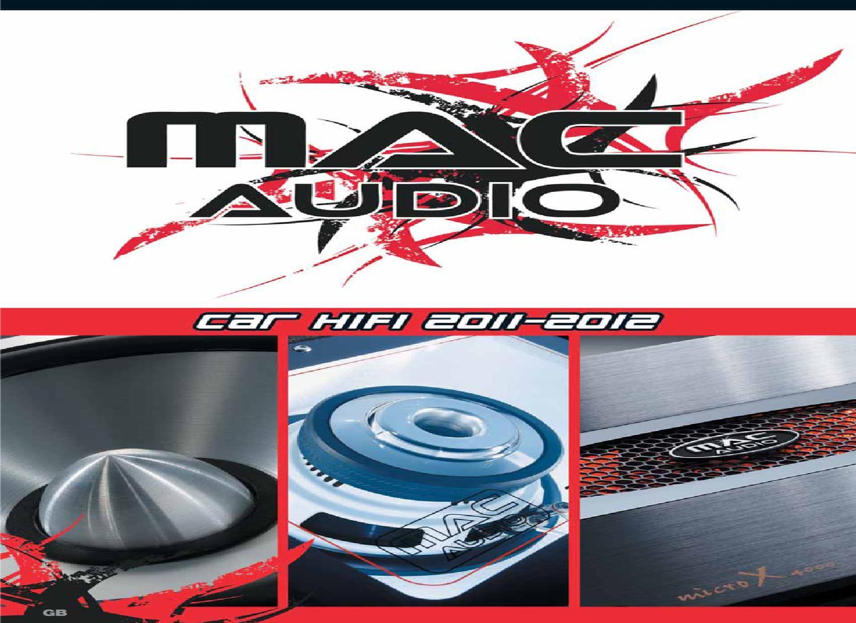 Amplificateur 1100 W MAC AUDIO ZXS 1000-Amplificateur et Accessoires
