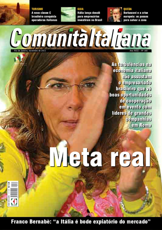 15f86e0159dce Revista Comunità Italiana Edição 160 by Comunita Italiana - issuu