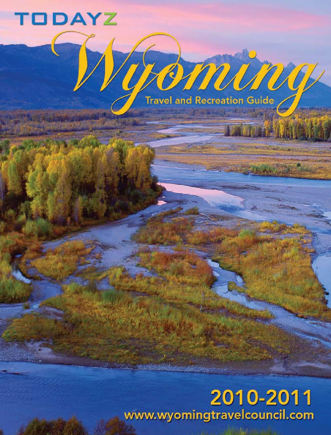 Wyoming Travel Recreation 2011 By Chris Dewolf Issuu