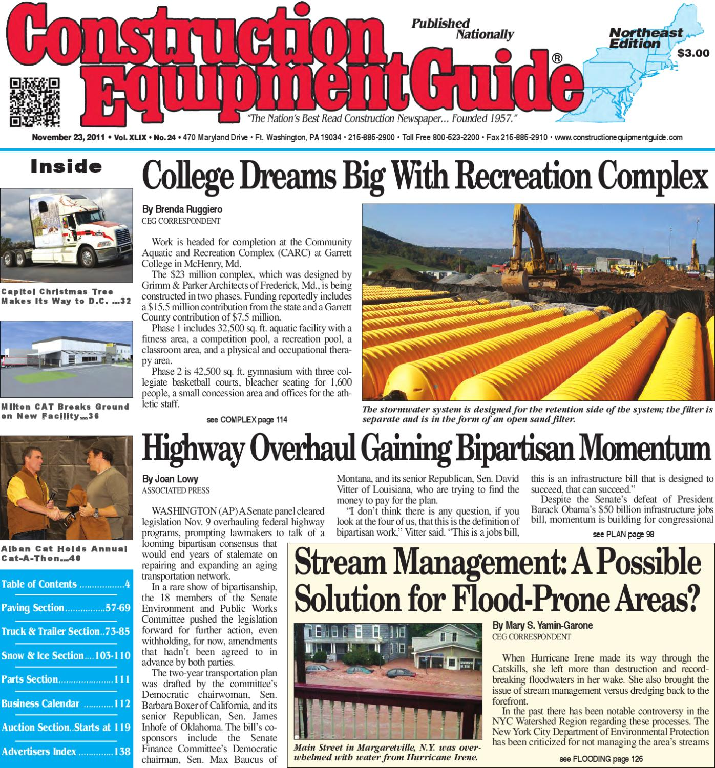Northeast #24 2011 by Construction Equipment Guide - issuu