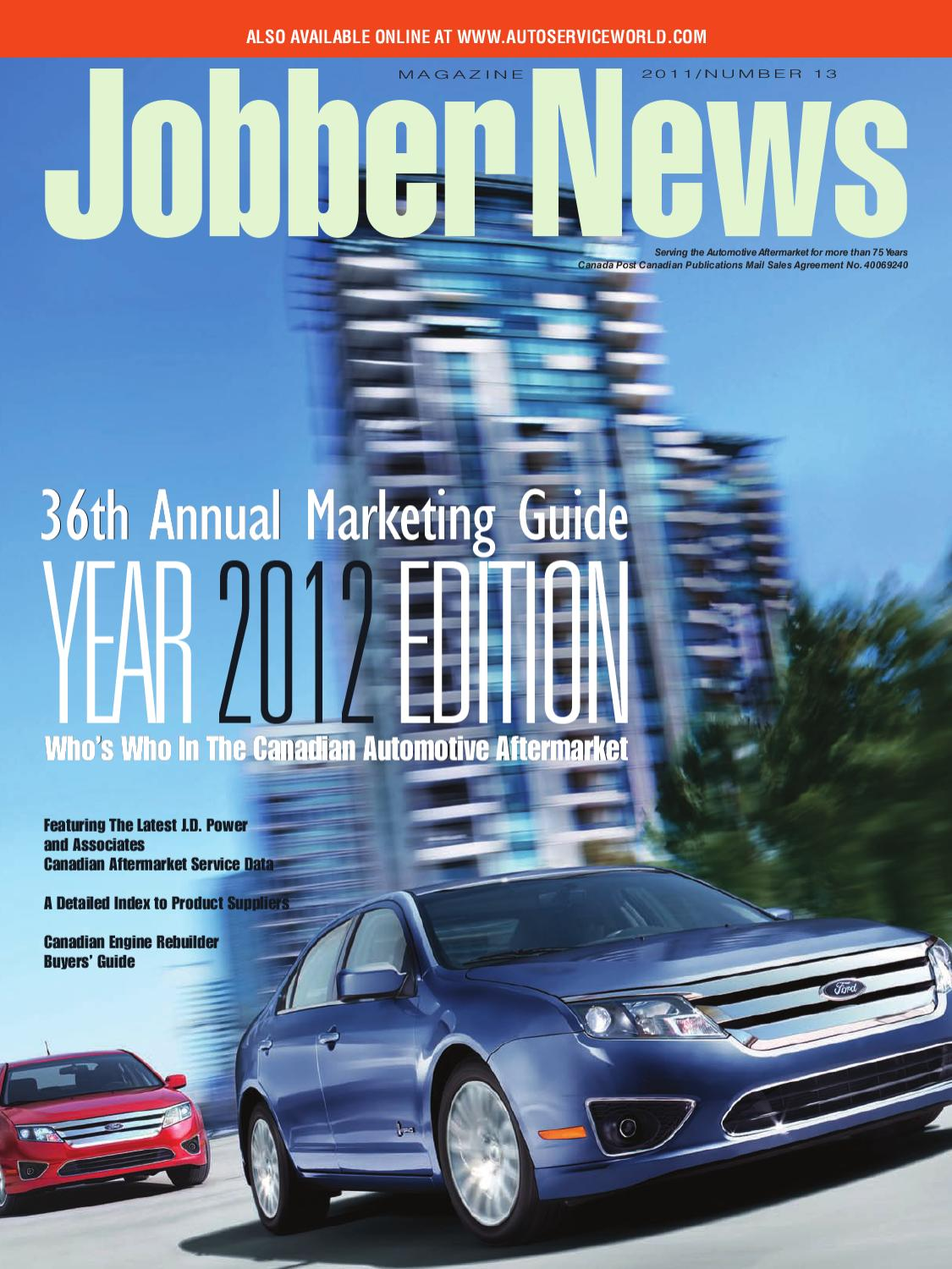 Jobber News Marketing Guide 2012 by Annex-Newcom LP - issuu