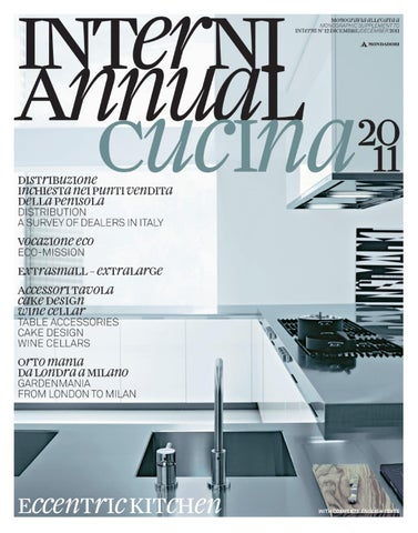 Annual Cucina 2011 by Interni Magazine - issuu 04c282b70797