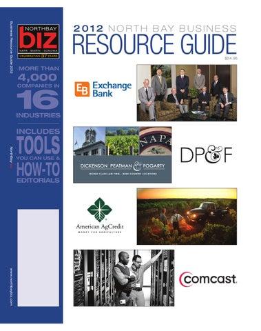 North Bay Business Resource Guide 2012 by NorthBay biz - issuu