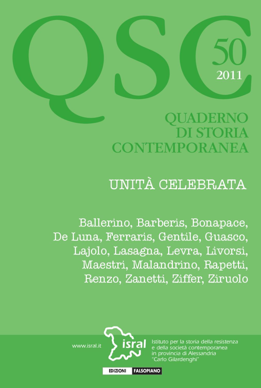 quaderno di storia contemporanea 50 by Edizioni Falsopiano - issuu 24f3480ac2b1