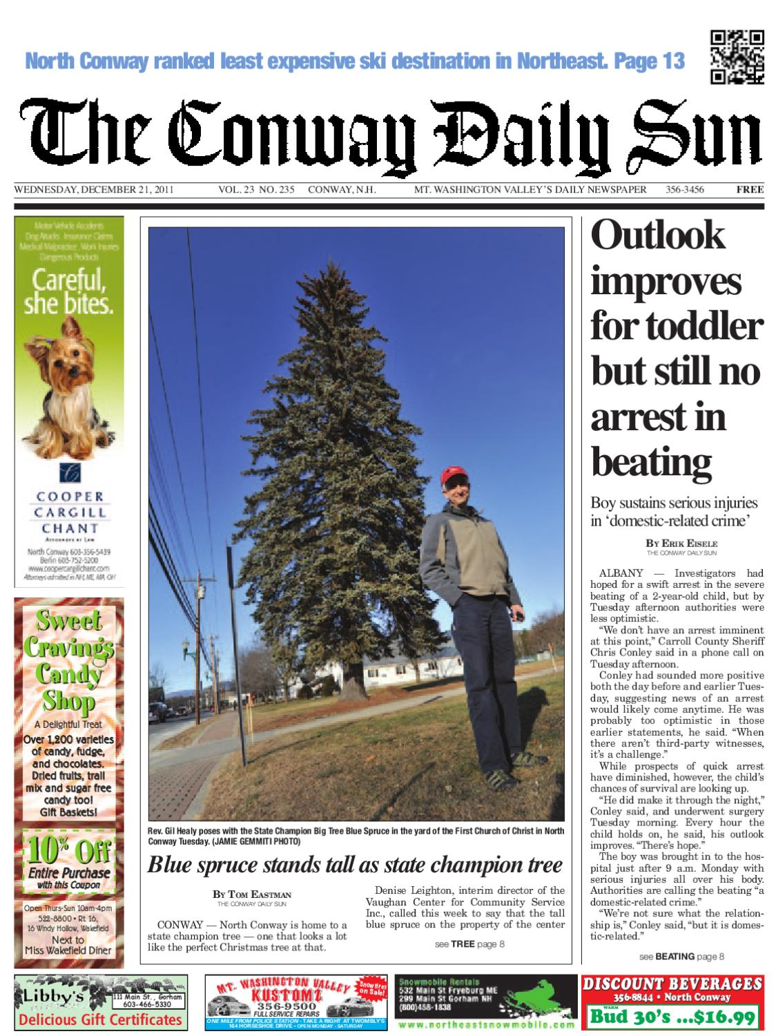 The Conway Daily Sun, Wednesday, December 21, 2011 by Daily