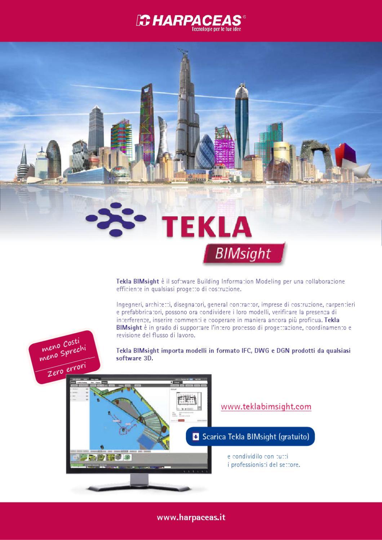Tekla bimsight by harpaceas issuu for Software di progettazione di costruzione di case gratuito