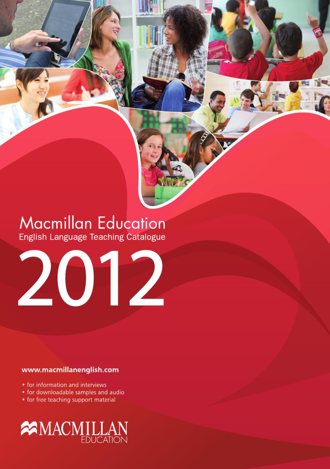 macmillan education 2012 catalogue by macmillan education. Black Bedroom Furniture Sets. Home Design Ideas