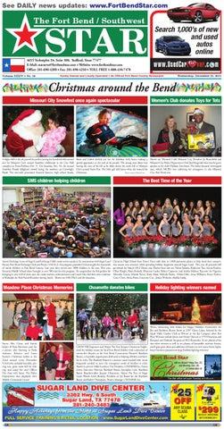 december 21 2011 fort bend community newspaper for sugar land rh issuu com
