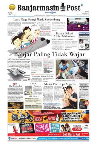 Banjarmasin Post edisi cetak Kamis 22 Desember 2011 by Banjarmasin ... c03eb0a1bd