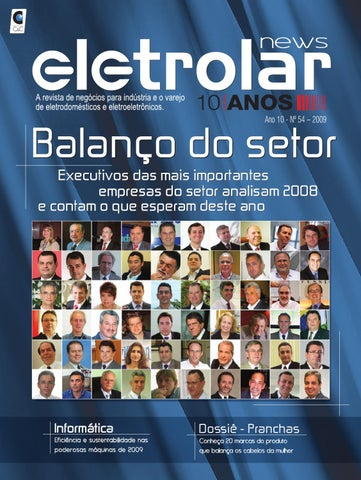e4ea9b048 Revista Eletrolar News Ed54 by Grupo Eletrolar - issuu