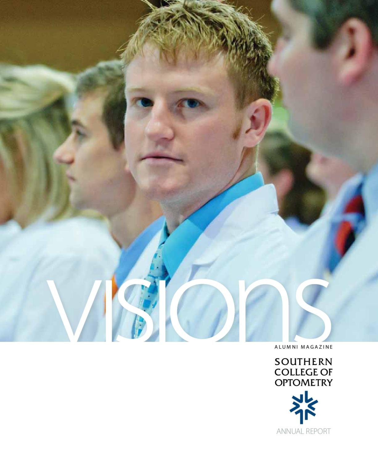 visions alumni magazine - annual report 2011 - southern college of