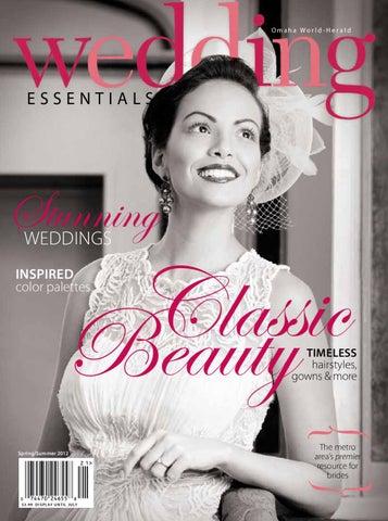 Wedding Essentials Springsummer 2012 By Omaha World Herald Issuu