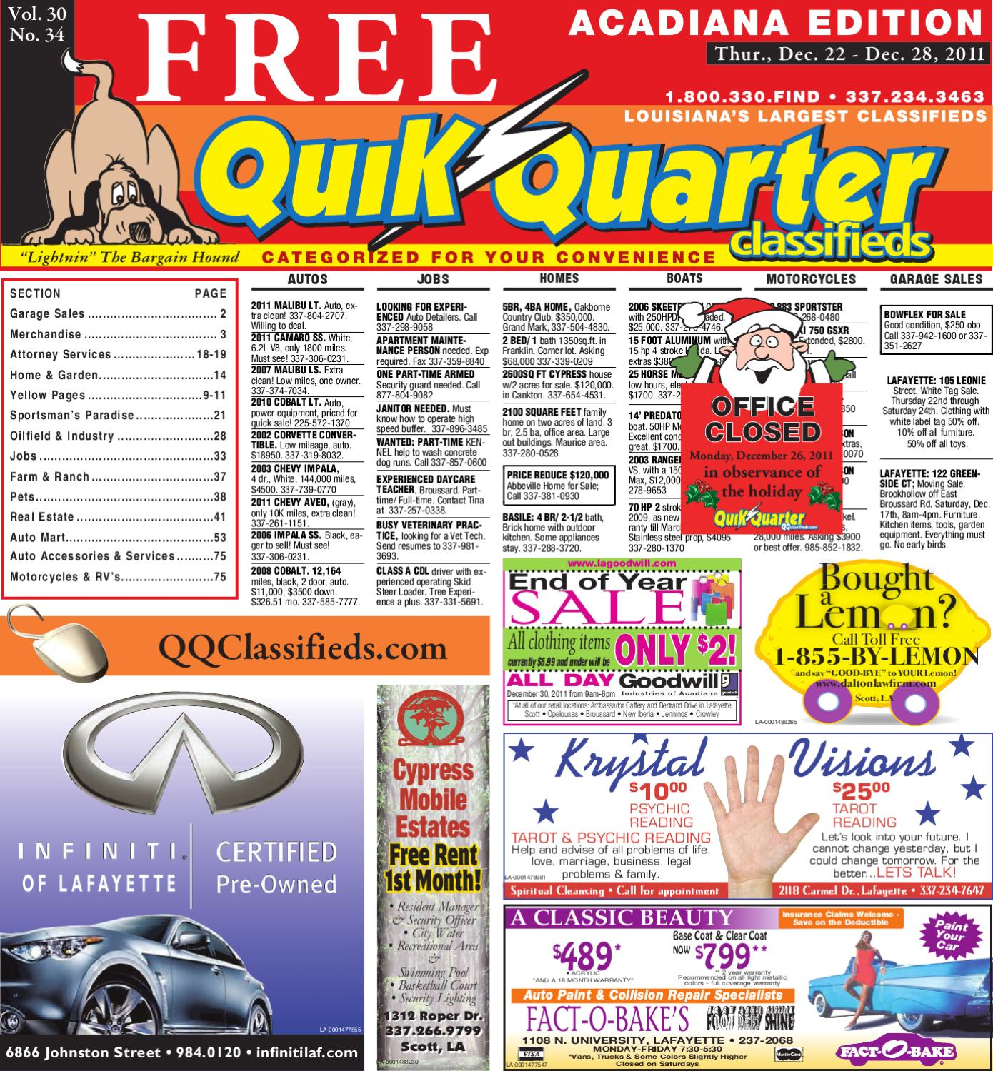 QQ Acadiana by Part of the USA TODAY NETWORK - issuu on