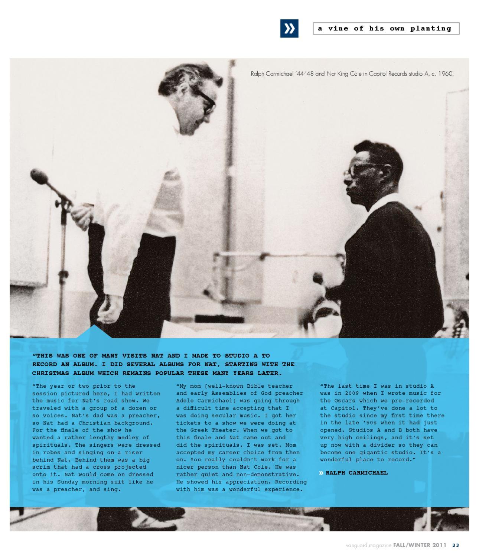 Vanguard Magazine - Fall 2011 by Vanguard University - issuu