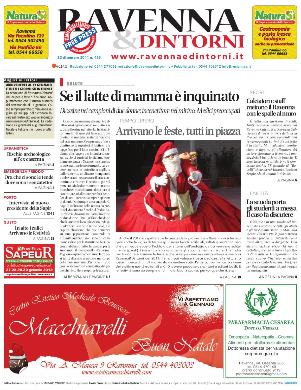 Ravenna   Dintorni 469 - 22 12 2011 by Reclam Edizioni e Comunicazione -  issuu f4e5798068e