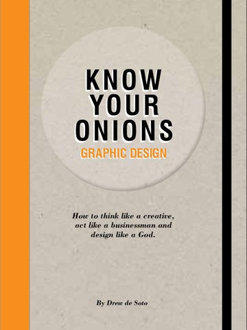 Know Your Onions - Graphic Design by BIS Publishers - issuu