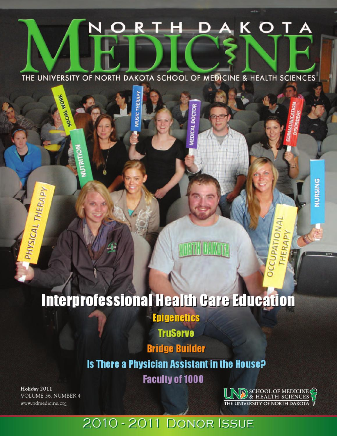 north dakota medicine by university of north dakota school of medicine health sciences issuu north dakota medicine by university of