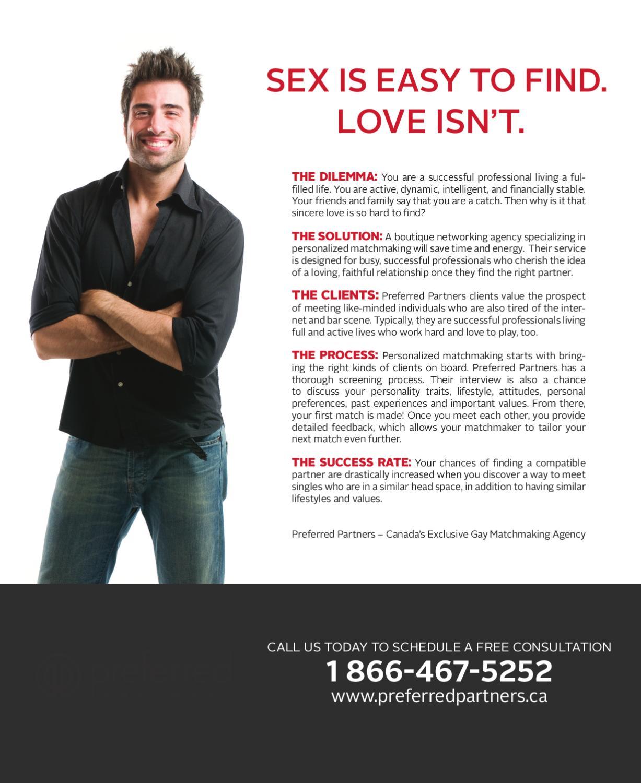 gay matchmaking canada