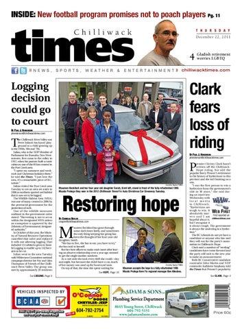 Chilliwack Times December 22 2011