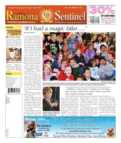 c1e5a2228 Ramona Sentinel Newspaper by MainStreet Media - issuu