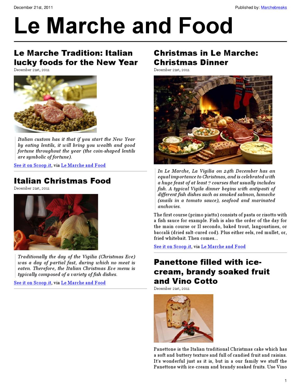 Le Marche and the Food by Mariano Pallottini - issuu