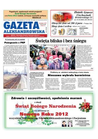 Gazeta Aleksandrowska Nr 58 2011 By Wydawnictwo Kujawy Issuu