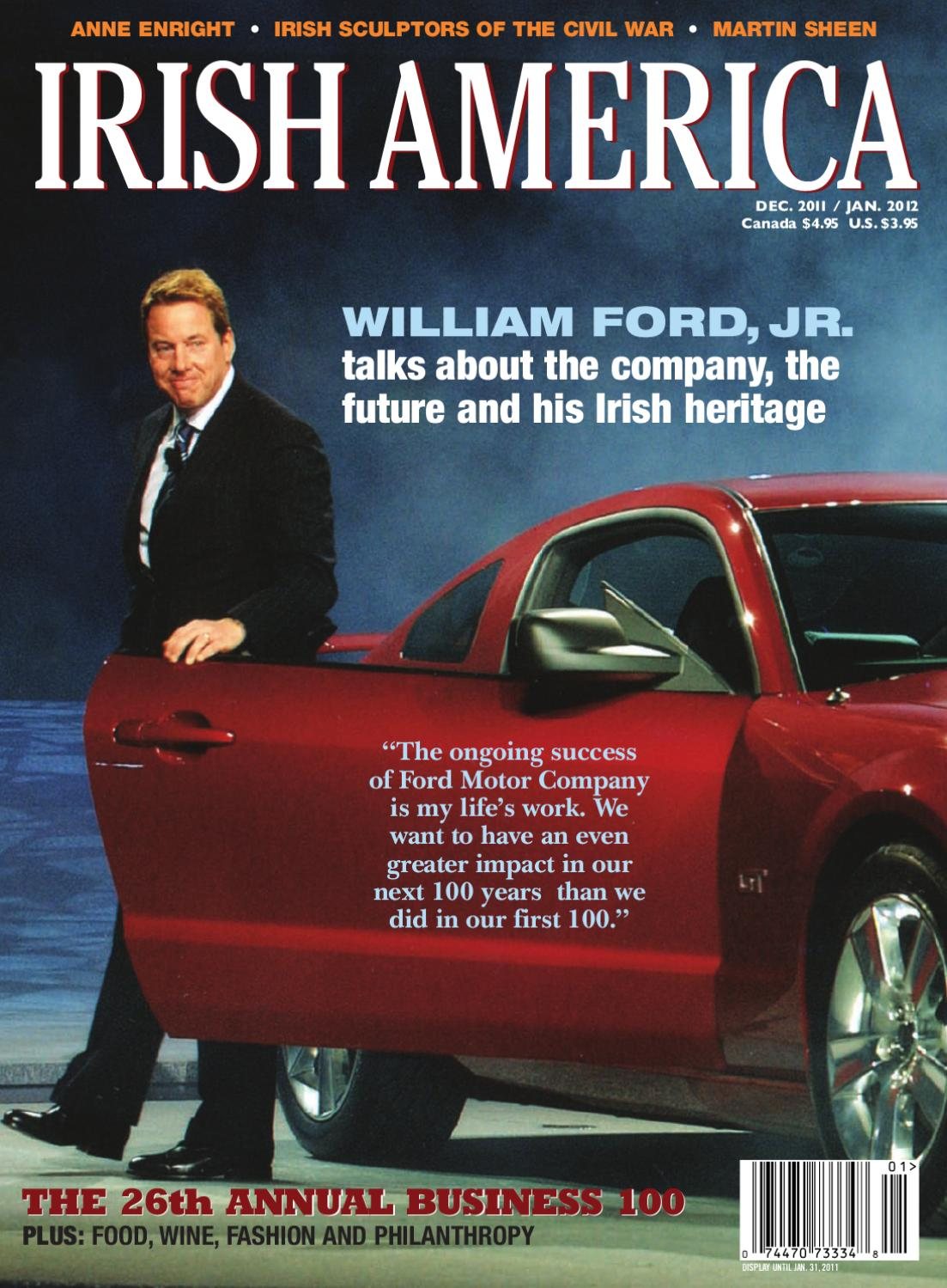 0d335c2d14f67 Irish America December   January 2012 by Irish America Magazine - issuu