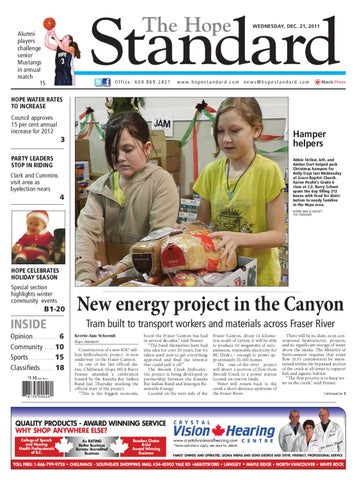 Hope standard wed december 21 2011 by hope standard issuu page 1 the hope standard sciox Choice Image