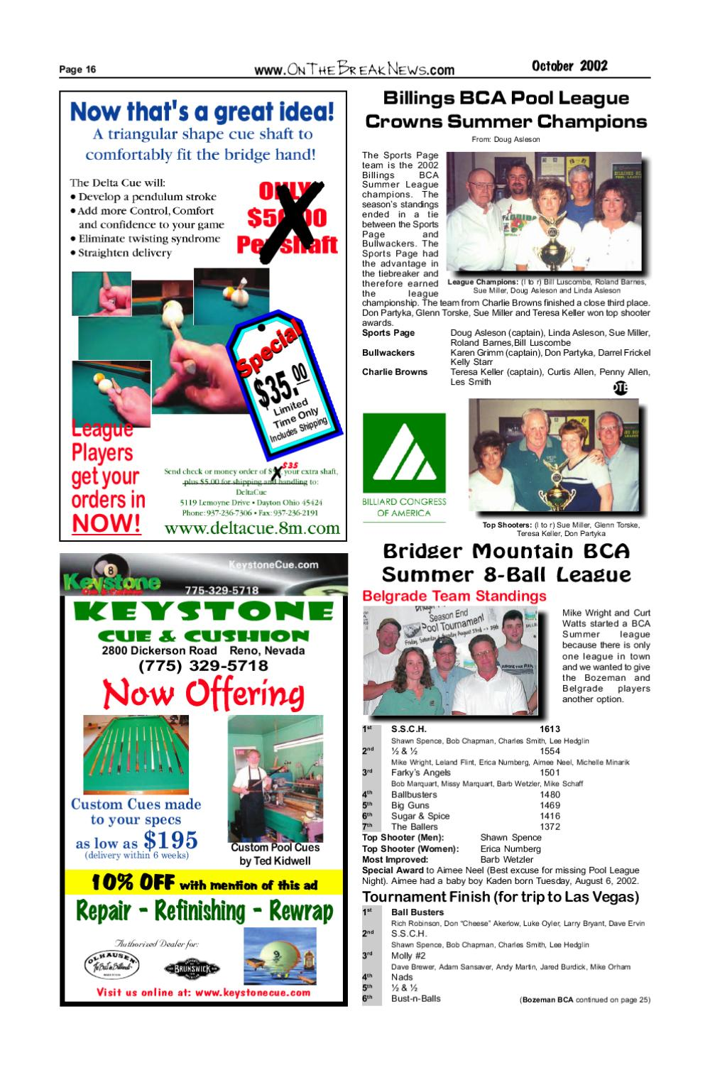 The Break October Issue 2002 by The Break - issuu