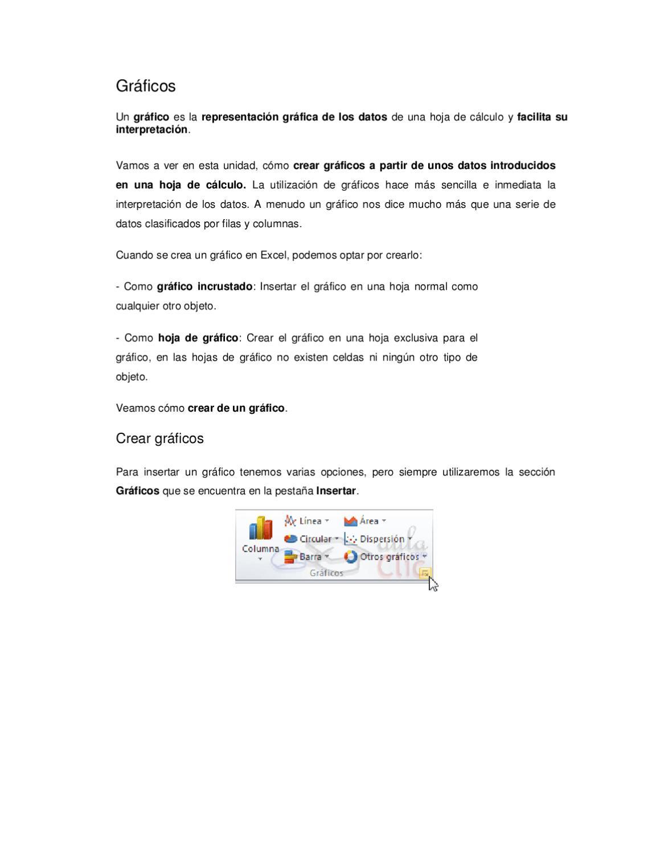 EXCEL. UNIDAD 3. GRAFICOS by ANDRES PAEZ - issuu