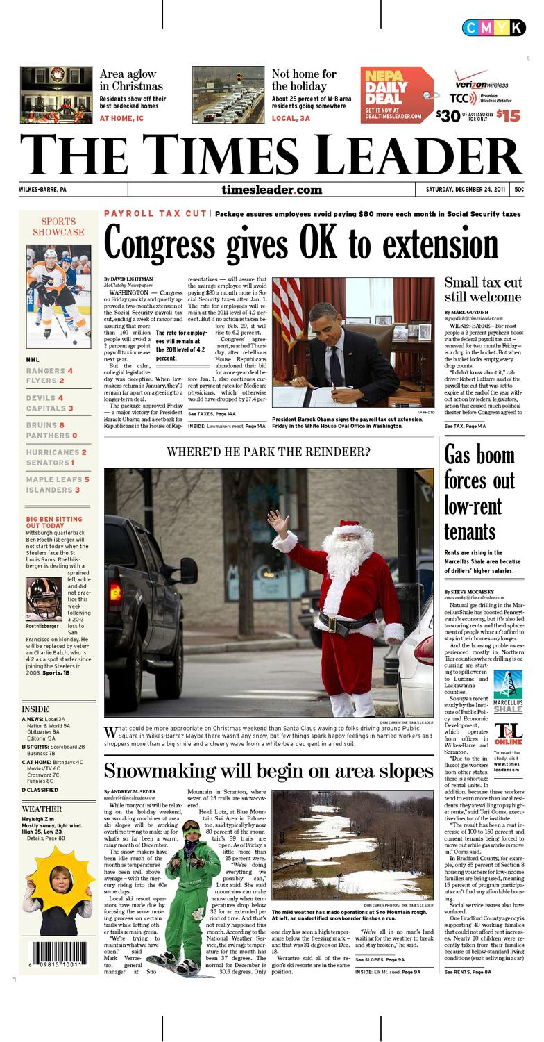 Times Leader 12 24 2011 By The Wilkes Barre Publishing Company Issuu