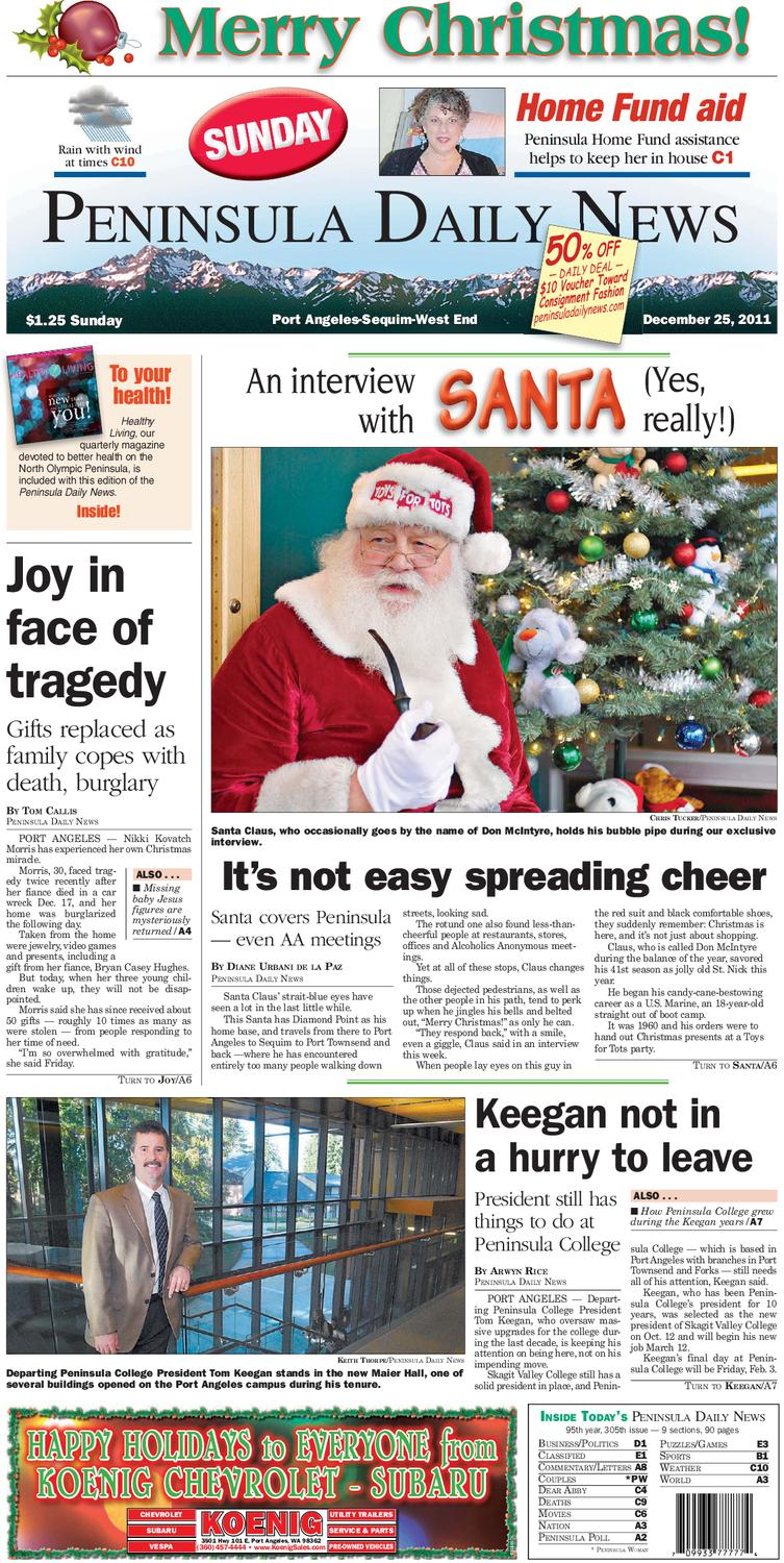 PDN12252011C by Peninsula Daily News & Sequim Gazette - issuu