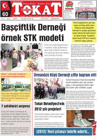 tokat haberci gazetesi by designer issuu