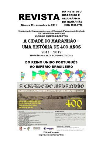 65c4b058e21a1 REVISTA IHGM 39, DEZEMBRO 2011 by Leopoldo Gil Dulcio Vaz - issuu