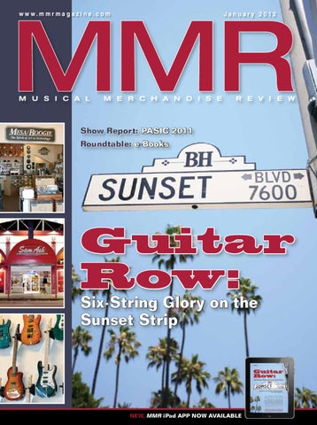 MMR January 2012 by MMR - Musical Merchandise Review - issuu