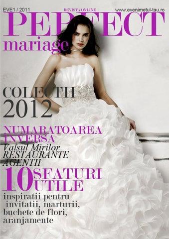 Ghidul De Nunti Online Perfect Mariage By Evenimentul Tau Mariage