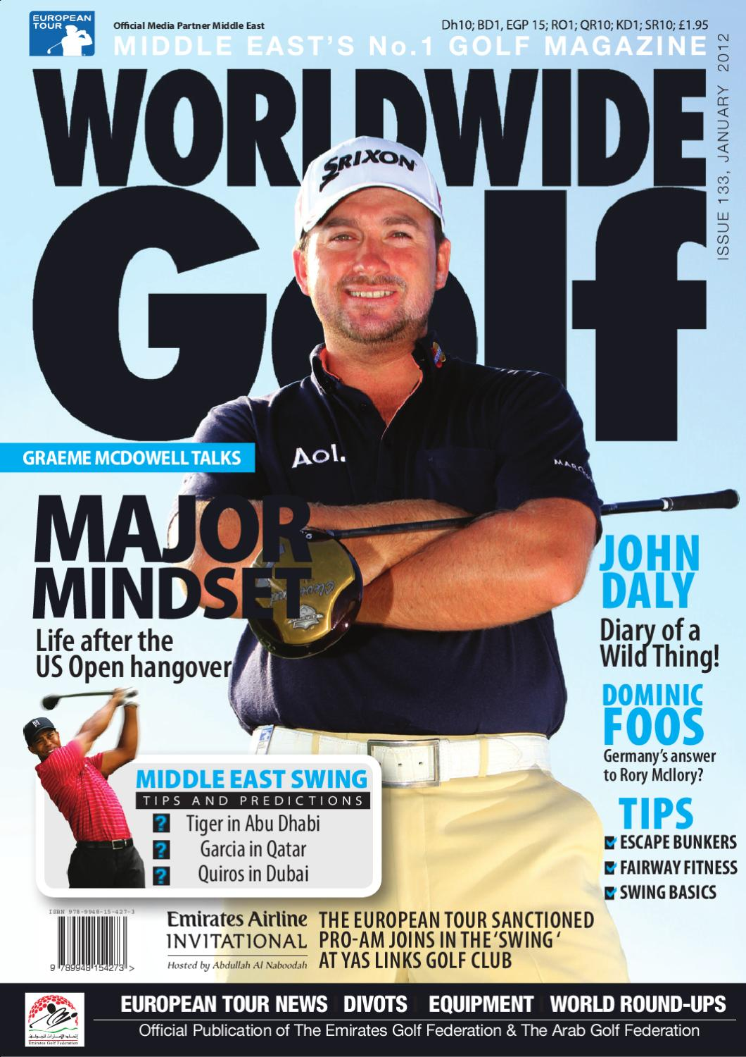 69de4b6ca Worldwide Golf January 2012 Middle Number 1 Golf Magazine by WSP ...