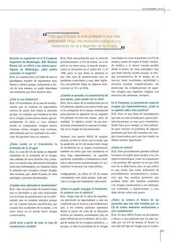 Page 27 of LOS NUEVOS PARADIGMAS EN MASTOLOGÍA