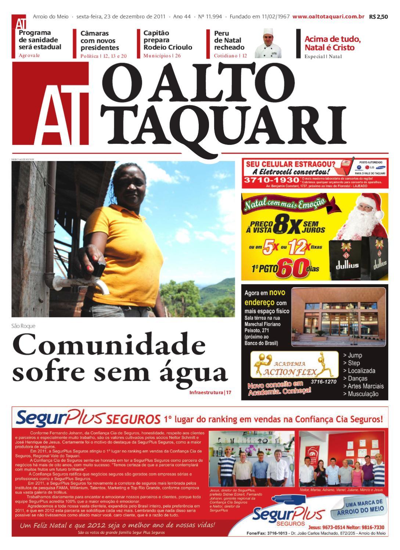 e38ebb02cde Jornal O Alto Taquari - 23 de dezembro de 2011 by Jornal O Alto Taquari -  issuu