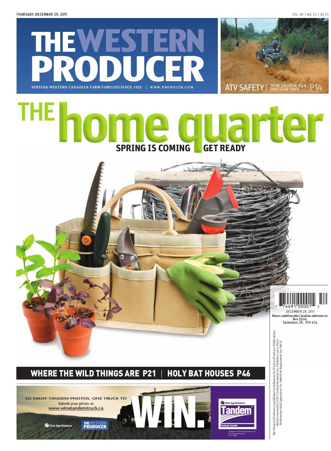 December 29, 2011 - The Western Producer by The Western Producer - issuu