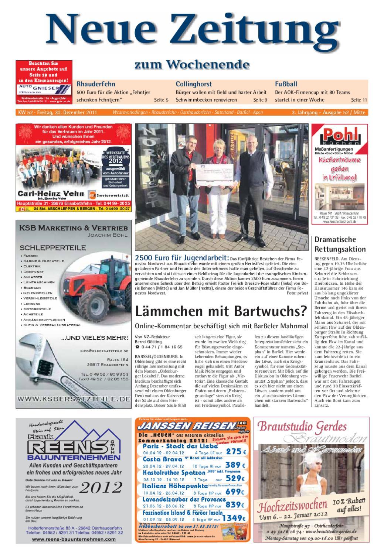 Neue Zeitung Ausgabe Mitte Kw52 2011 By Gerhard Verlag Gmbh Issuu