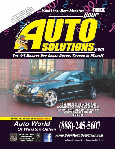 Wondrous Your Auto Solutions 40 By Keith Warther Issuu Wiring Cloud Peadfoxcilixyz